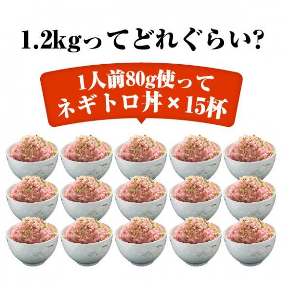 【送料無料】寿司屋のネギトロ!たっぷりネギトロ1.2kg(300g×4パック)05