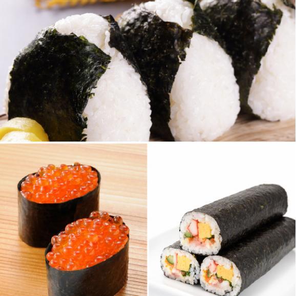 送料無料 国産海苔 大判全形40枚 寿司屋が厳選!寿司はねのため訳あり!06