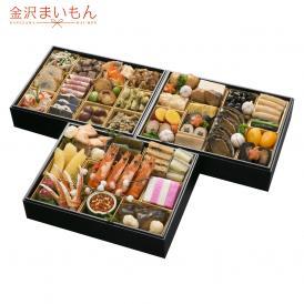 寿司屋が厳選した海の幸をふんだんに使用した特製おせちです。