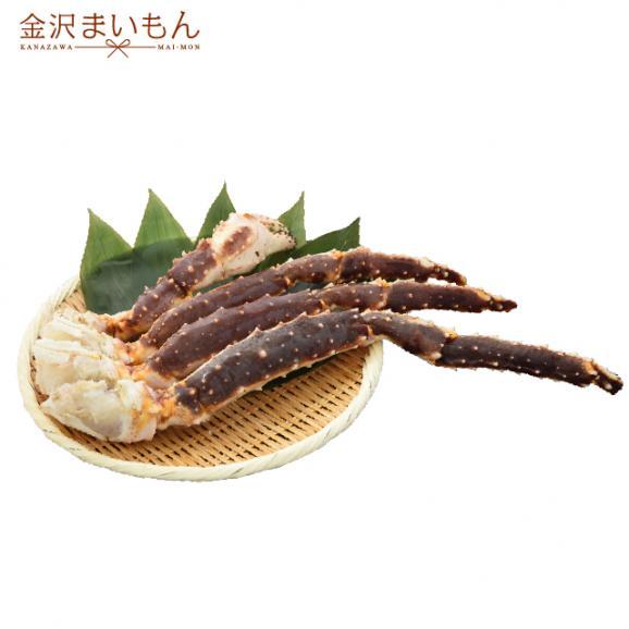 金沢まいもん寿司厳選!加熱用 特大 生タラバカニ足 1.1kg(総重量1.5kg) たらばがに タラバ蟹 たらば蟹 タラバ たらば カニ01