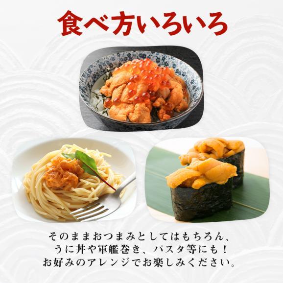 金沢まいもん寿司オリジナル 無添加ばふんうに 80g×2パック04
