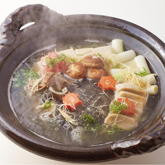 甲羅付 すっぽん鍋セット02