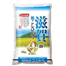 【令和2年産新米】【送料無料】滋賀県産こしひかり 10kg