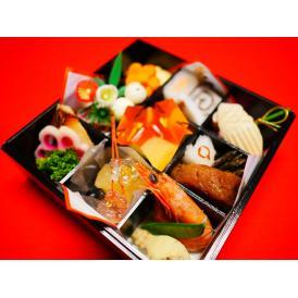 生おせち!京料理の味、本平目求肥巻、黒豆、数の子、京のお煮しめ、イクラ、お一人用