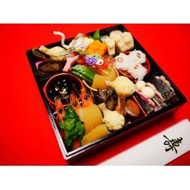 送料無料!(一部地域を除く)生おせち!京都の味本平目求肥巻、数の子、黒豆、いくら、京のお煮しめ