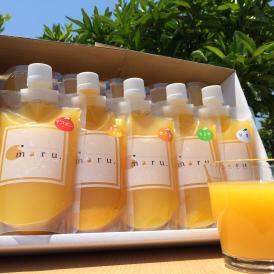 愛媛産柑橘の美味しさを大切にし、優しいお味に調えたジュースを10本のセットに致しました。