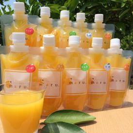 それぞれの柑橘のお味をジュースとゼリーで比べられる贅沢なセットです。