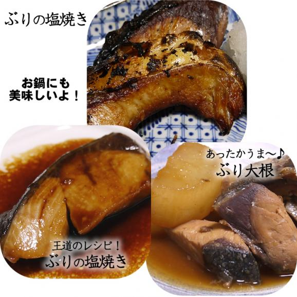 【市場価格】青森産 天然ぶりの切り身(50切)冷凍 真空パック 天然鰤 ブリ03