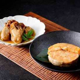 東北の美味しさを追求した、缶詰2種セット。南三陸牡蠣のしぐれ煮と、銀鮭の醤油煮が楽しめます。