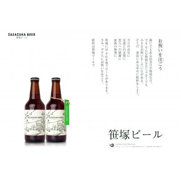 笹塚ビール ギフトセット (グラス入セット)05
