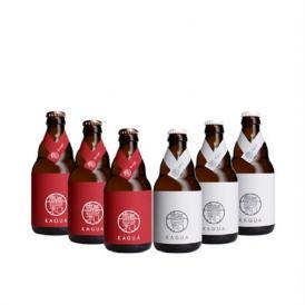 「馨和 KAGUA」Blanc & Rouge 6本セット 330ml × 6本