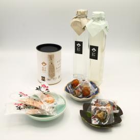 父の日ギフト「日本酒2本と酒肴のセット」