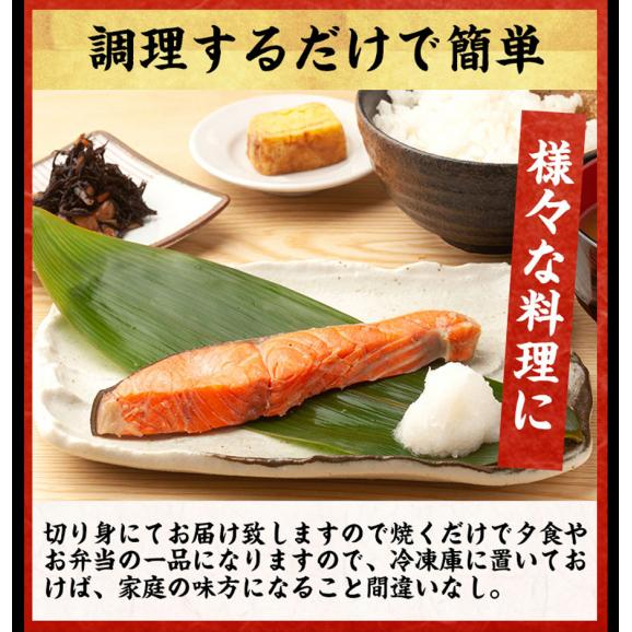 甘塩銀鮭 切り身 8切れ(定塩/約520g)【鮭/さけ/サケ/切身/送料無料/ますよね】03