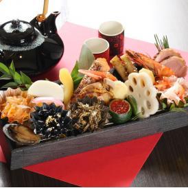 魚菜まつむろの特選おせち一段重 (松) 17品目 一人前