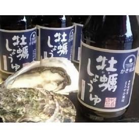 かき松島 牡蠣しょうゆ 400ml  6本