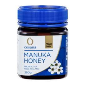 マヌカハニー コサナマヌカハニー MGO100 250g 1本 生はちみつ フトモモ科の低木のマヌカの小さな花から採られたハチミツです。