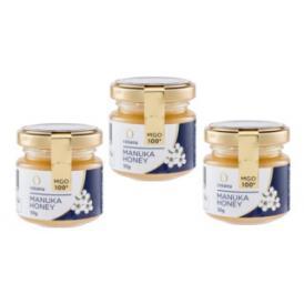 マヌカハニー コサナマヌカハニー MGO100 50g 1本 生はちみつ フトモモ科の低木のマヌカの小さな花から採られたハチミツです。