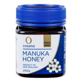マヌカハニー コサナマヌカハニー MGO400 250g 1本 生はちみつ フトモモ科の低木のマヌカの小さな花から採られたハチミツです。