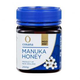 マヌカハニー コサナマヌカハニー MGO500 250g 1本 生はちみつ フトモモ科の低木のマヌカの小さな花から採られたハチミツです。