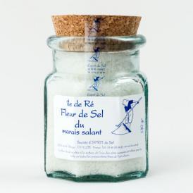フルール・ド・セル(レ島の塩の花)130g ビン入り