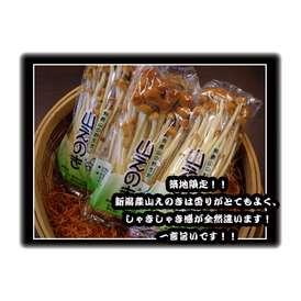 小分け一般野菜シリーズ!【新潟産山えのき】4パックセット