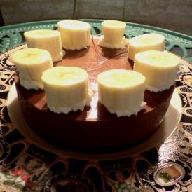 【店頭受取専用】ショコとバナナのケーキ(1ホール/直径15cm)
