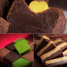 外側はカリッと香ばしく、中心部分はまるで生チョコ。濃厚かつとろけるような食感が魅力です。