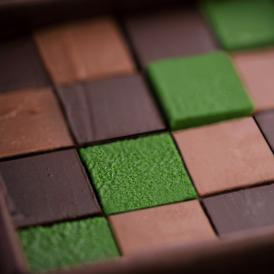 3種類の生チョコレートをセット