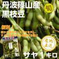 予約販売割引中。【サヤのみ】丹波篠山の黒枝豆1キロ(250g×4袋)
