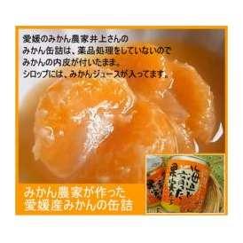 愛媛県産・みかんの缶詰1個。薬品処理なしです。本来のみかんの味をご賞味ください。■送料別途です。