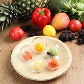 【乳製品不使用】【完全無添加】シェフ手作りの野菜ソルベ■5種類8個入り