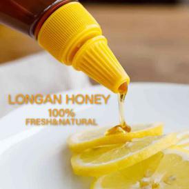 ロンガンはちみつ 非加熱 花粉除去なし 完熟ハチミツ ロンガン蜂蜜 龍眼 竜眼はちみつ りゅうがんはちみつ リュウガンハチミツ チューブ入りハチミツ