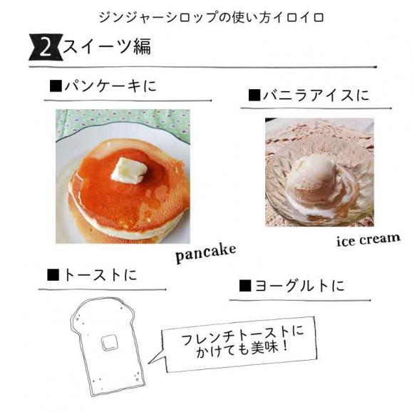桐島畑のジンジャーシロップ 480g入り 高知県四万十川町産しょうが 生姜シロップ しょうがシロップ06