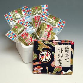【冬限定】霜あび野沢菜(浅漬) スチロール入450g・4袋