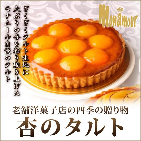 老舗洋菓子店の四季の贈り物杏のタルト01