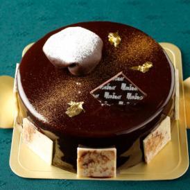 フランス産高級チョコレートの贅沢なチョコレートケーキラファエル