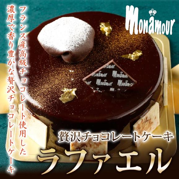 フランス産高級チョコレートの贅沢なチョコレートケーキラファエル02