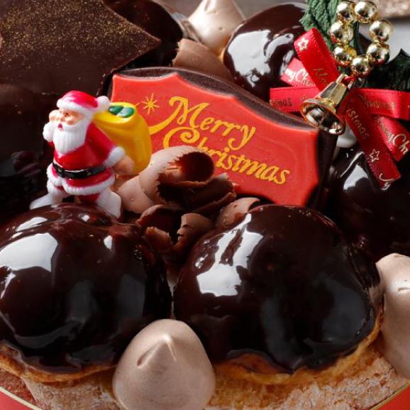 予約販売【大人気スイーツ店のクリスマス★ケーキ】 「クリスマスリース」サイズ直径 / 15cm02