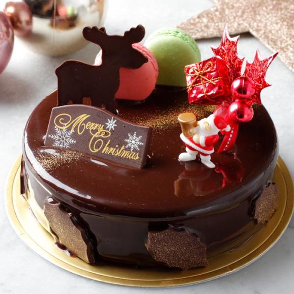予約販売【大人気スイーツ店のクリスマス★ケーキ】「ラファエル」サイズ直径 / 15cm01