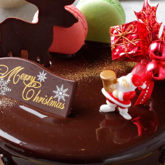 予約販売【大人気スイーツ店のクリスマス★ケーキ】「ラファエル」サイズ直径 / 15cm02
