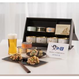 【父の日ギフト】贅沢缶詰セット(ツナ缶、さば缶、オイルサーディン)