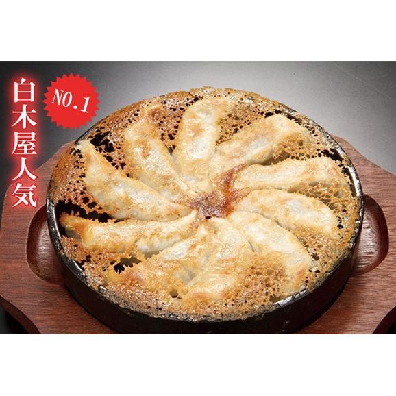白木屋 国産 本格鉄鍋餃子(冷凍・20ヶ入1P/288g) 01