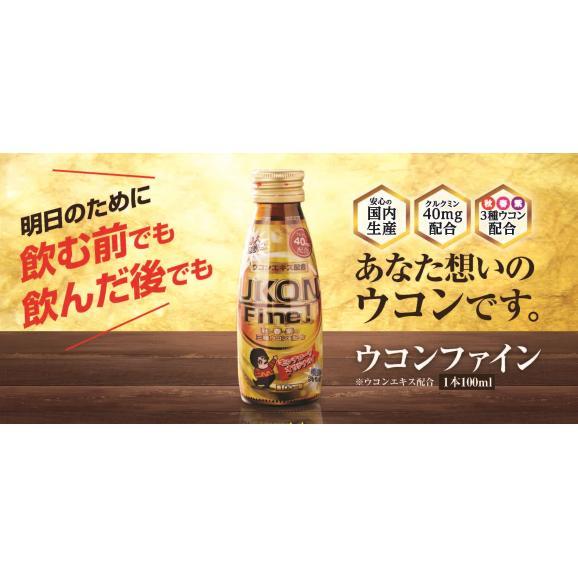 【送料無料】明日もシャキっと! 飲む前に ウコンファイン(常温・100ml/50本)05