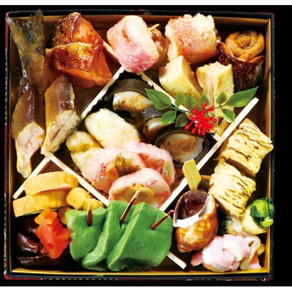 【全60品 三段重】<予約販売>令和を彩る京風おせち《伝統が織りなす技を味わう》 数量限定 購入特典付04