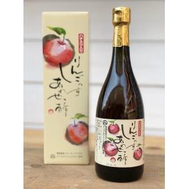 りんご酢100%にハチミツを加え、さらに寝かせて作った長期熟成酢です。