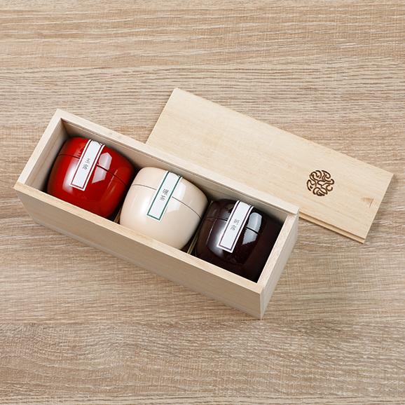 茶葉ショコラ桐箱セット04