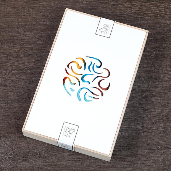 ビーンズショコラ5本桐箱セット03