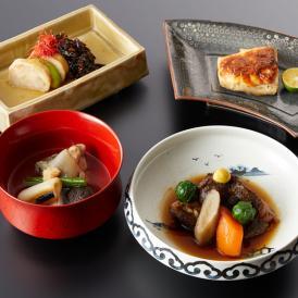 銀座・日本料理むとうのお取り寄せ 一汁三菜セット:楽
