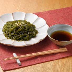 【1食100gで6kcal】わかめ麺 ひょっつる タレ付き【 10パックセット 】