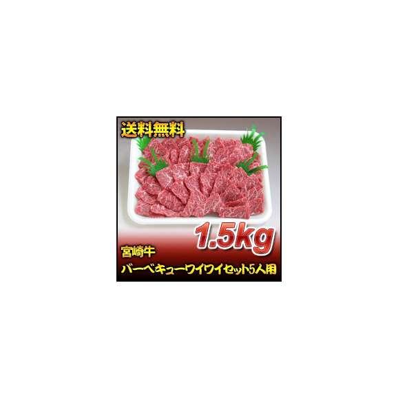 宮崎牛バーベキューワイワイセット5人用(1.5kg)01
